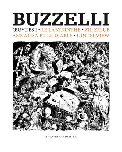 OEUVRES 1 BUZZELLI GUIDO CAHIER DESSINE